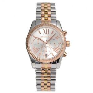 Michael Kors MK5735 Lexington Watch Tri-Tone